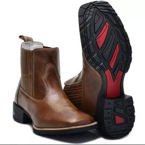 4bd066c6a1 Bota Country Masculina Texana Bico Quadrado Cano Longo - Sapatos no ...