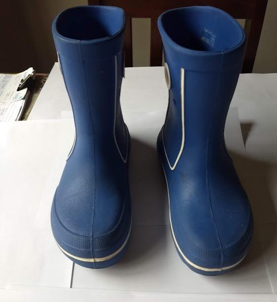 3d404ebf53bf Bota Botinha Crocs Crocband Jaunt Original Azul Infantil - R  85