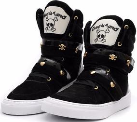 26f59c0ac46 Sneaker Quiz Cinza - Tênis no Mercado Livre Brasil