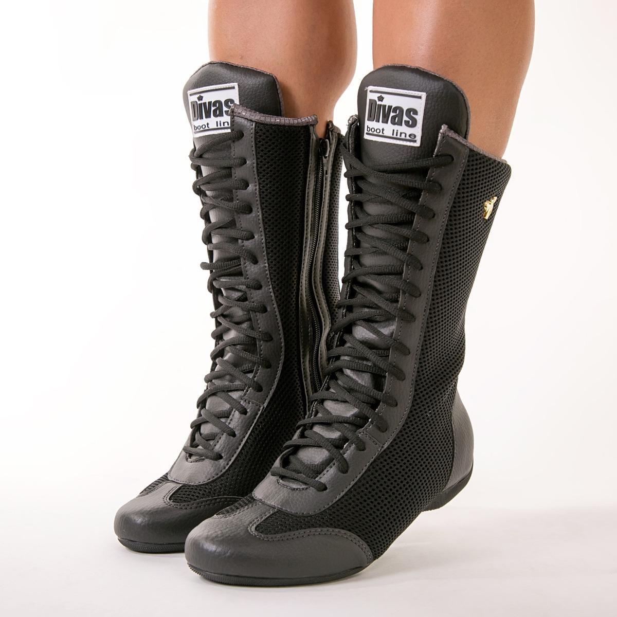 e712b4676 bota botinha treino musculação crossfit longa + toalha divas. Carregando  zoom.