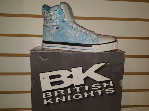 bota british knights ref canvas 100%originales importados