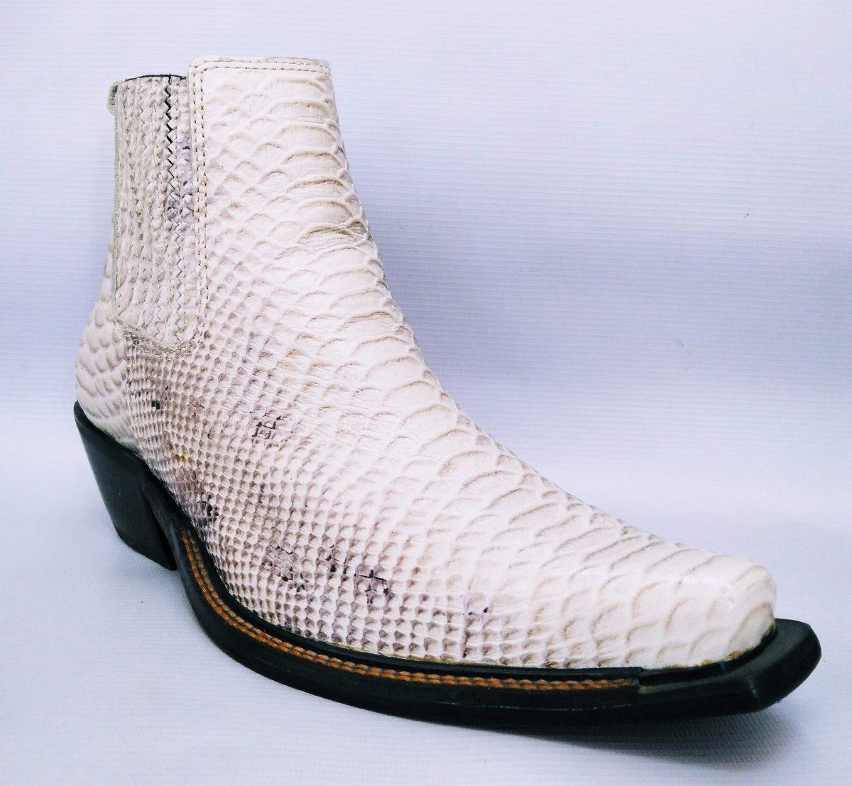 bota bulls branca country rodeio bico fino couro cobra. Carregando zoom. 5f9c89a0758