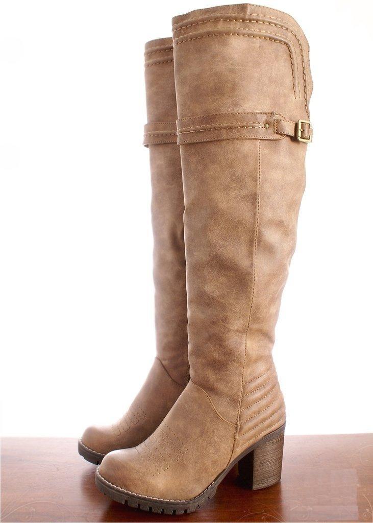 531da41186c bota caña alta bucanera mujer cuero sintético interior piel. Cargando zoom.