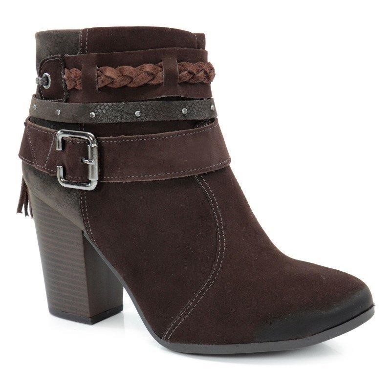 82999c5aa9 bota cano baixo dakota chocolate café - b7861. Carregando zoom.