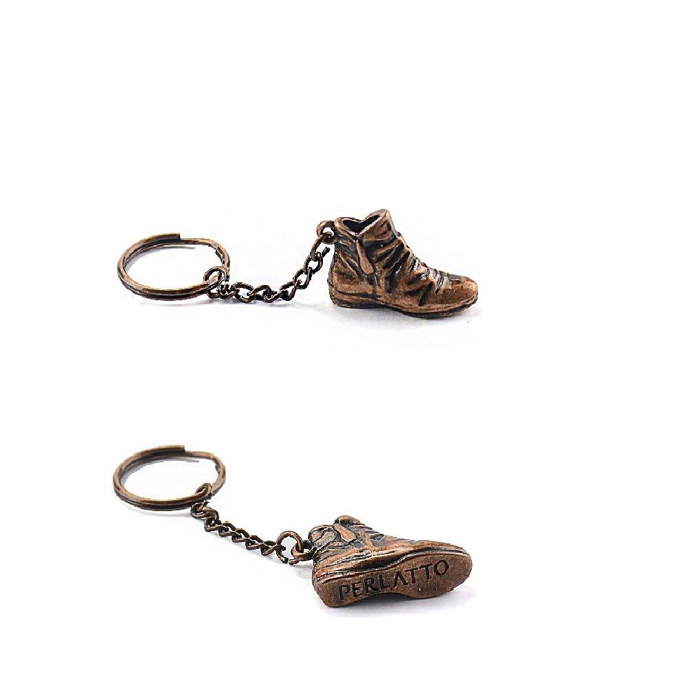 8eb1d9e6a5 bota cano baixo feminina com zíper e fivela couro - perlatto. Carregando  zoom.