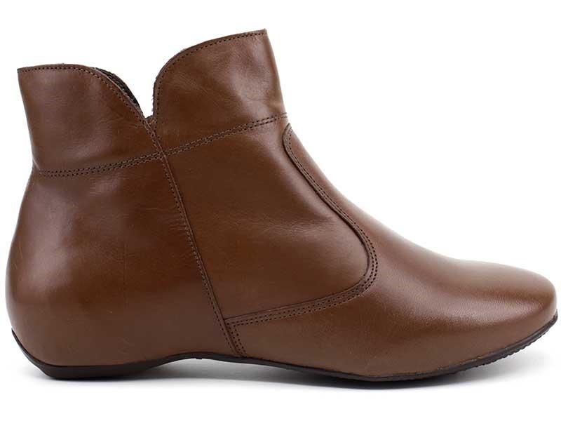 bota cano curto ankle boots via paula couro 4220 loja pixolé. Carregando  zoom. 425bc756dc
