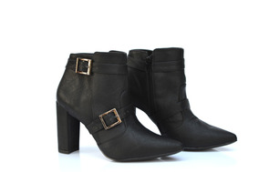 56c4125df0 Melissa Salto Bico Quadrado - Calçados