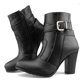 f54093633e479 Botas - Sapatos para Feminino com o Melhores Preços no Mercado Livre Brasil