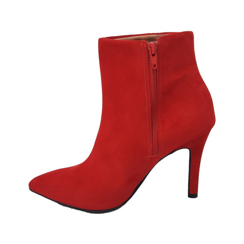 e81292f2e Bota Cano Curto Feminina Ankle Boot Salto Medio 3049.219 - R  119