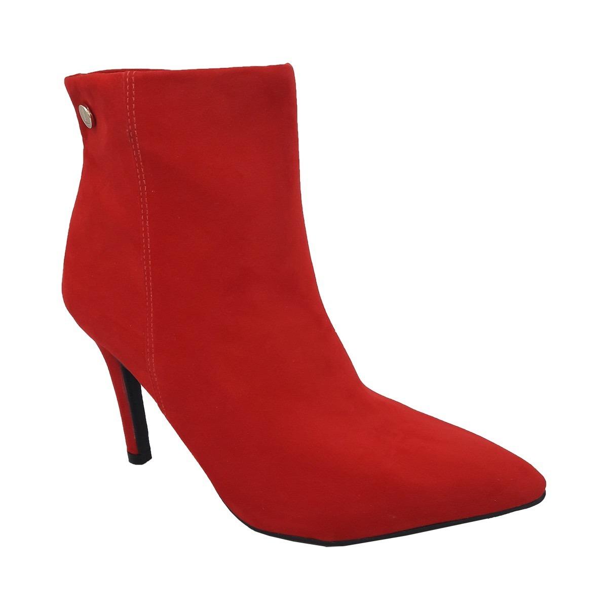 a03a12e1c bota cano curto feminina ankle boot salto medio 3049.219. Carregando zoom.
