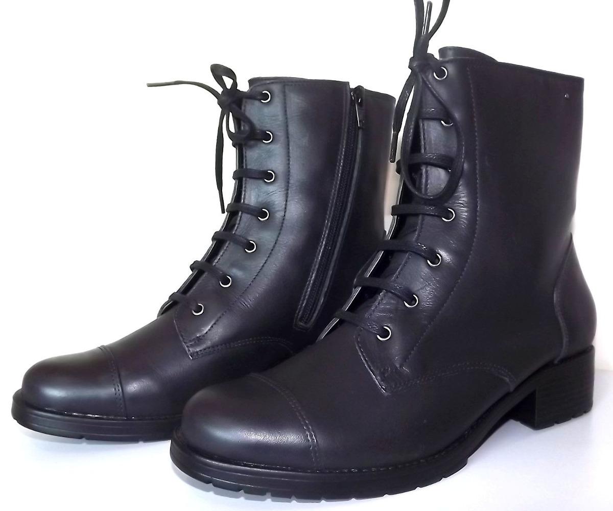 3a00bf501b37c5  bota cano curto feminina coturno couro legítimo parô  brasil. Carregando zoom. b5f28193bcefb1 ... 5066c6d7f30b2