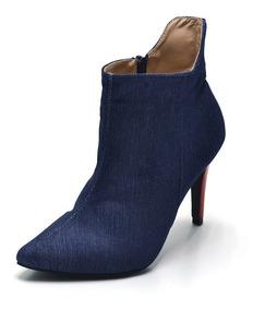 107f97fef0c1a Macacao Jeans Anita Botas De Cano Curto Feminino - Calçados, Roupas e  Bolsas com o Melhores Preços no Mercado Livre Brasil