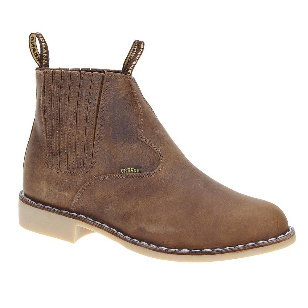 e03b8a94639 bota cano curto masculina marrom urbana boots 19653. Carregando zoom.