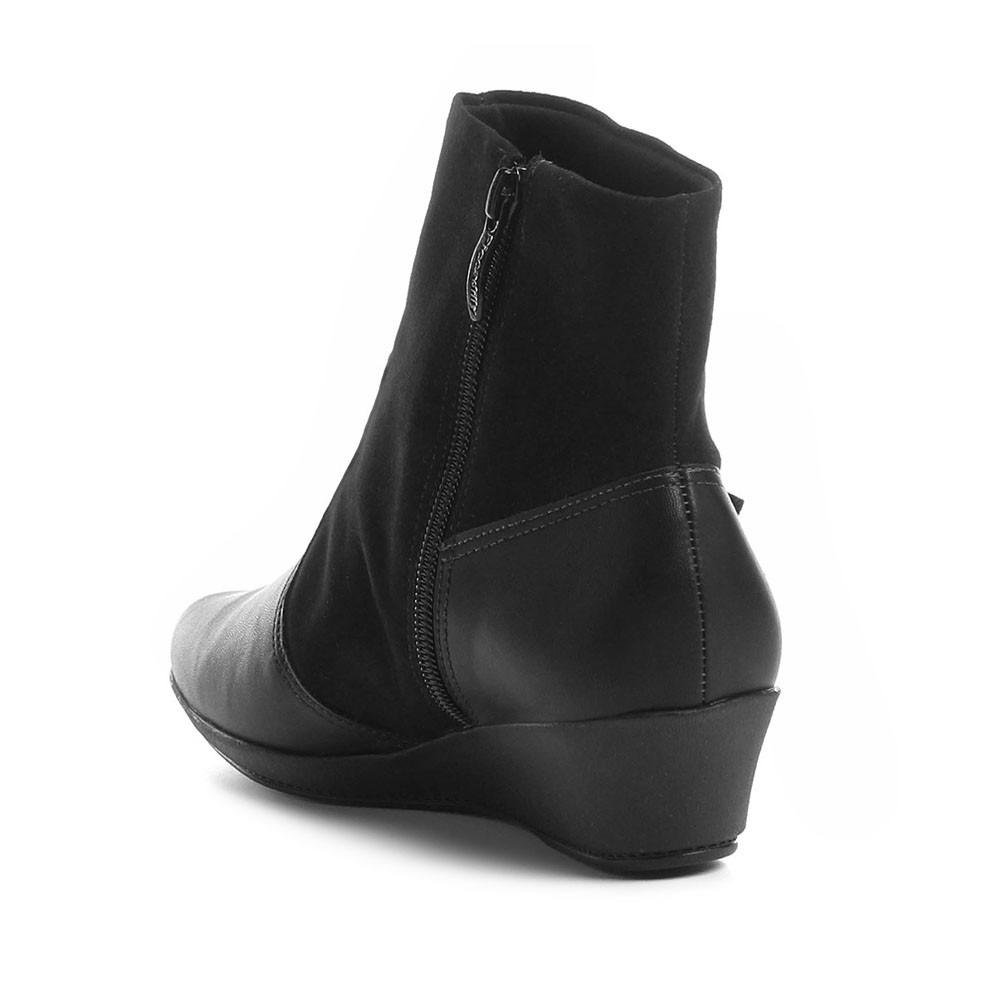 b5c6a03dec bota cano curto piccadilly anabela 144026 feminina - preto. Carregando zoom.
