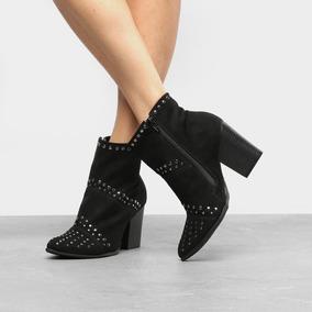 808a06ebc Botas Femininas Salto Grosso Ramarim - Sapatos no Mercado Livre Brasil