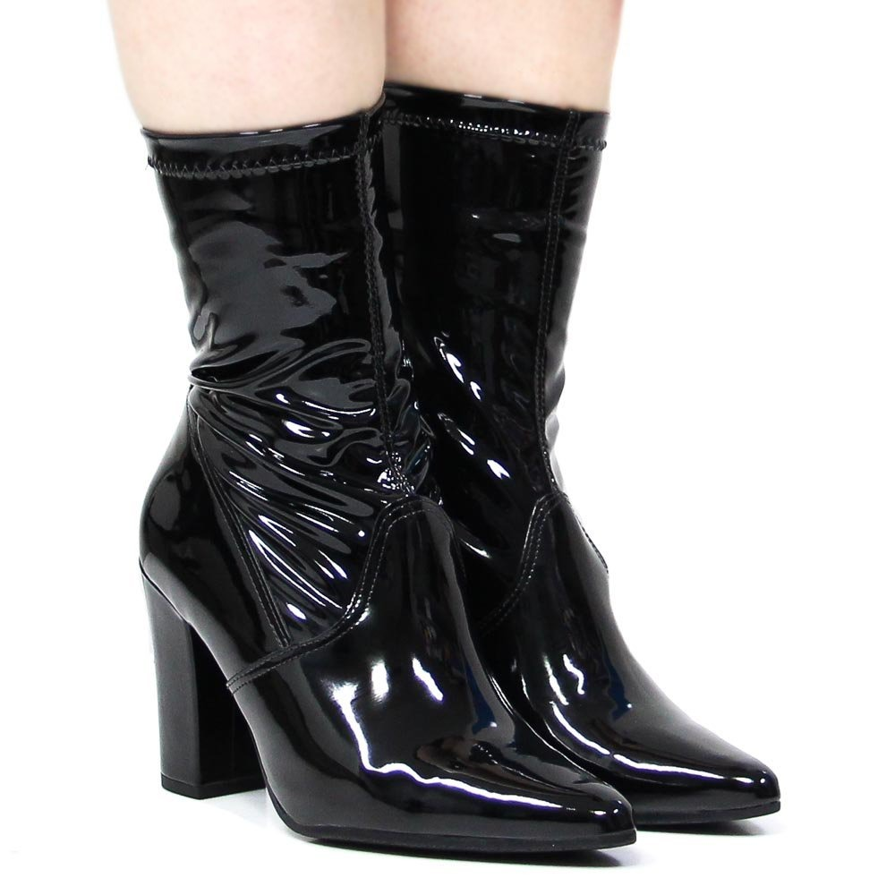 bota cano curto via marte ankle boot salto 18-155   betisa. Carregando zoom. 8fa41a732d