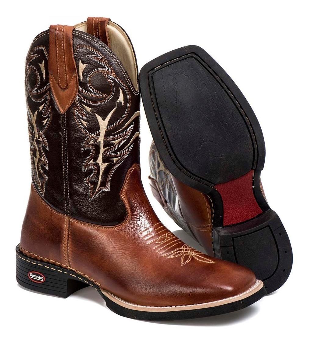 44ec2815e9 bota cano longo bico quadrado masculina country couro rodeio. Carregando  zoom.