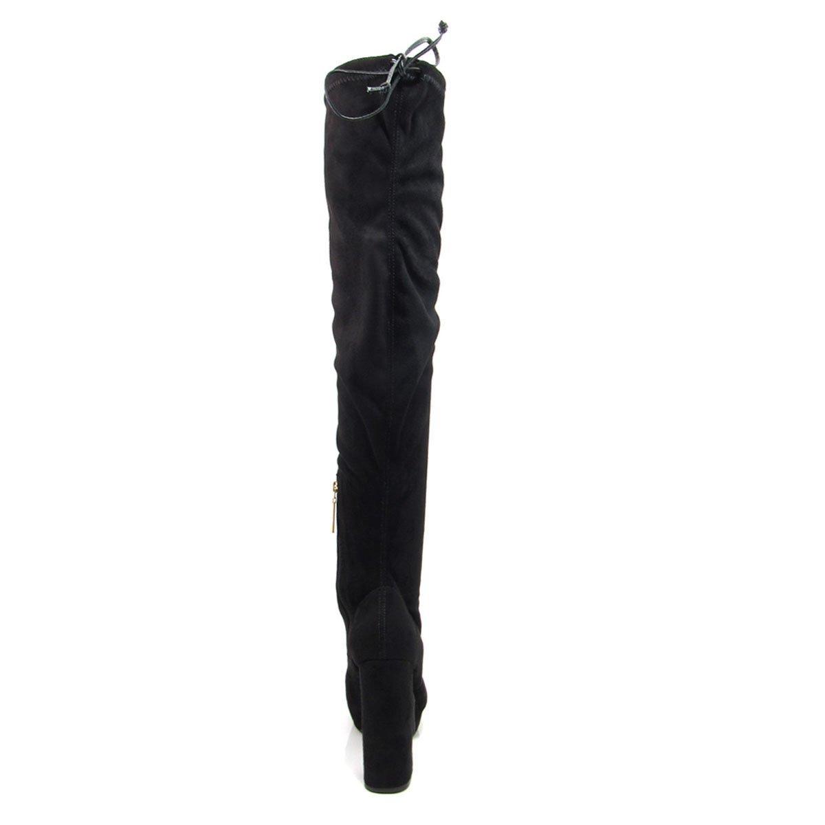99e6b3d7d bota cano longo salto grosso feminina vizzano 3065103. Carregando zoom.
