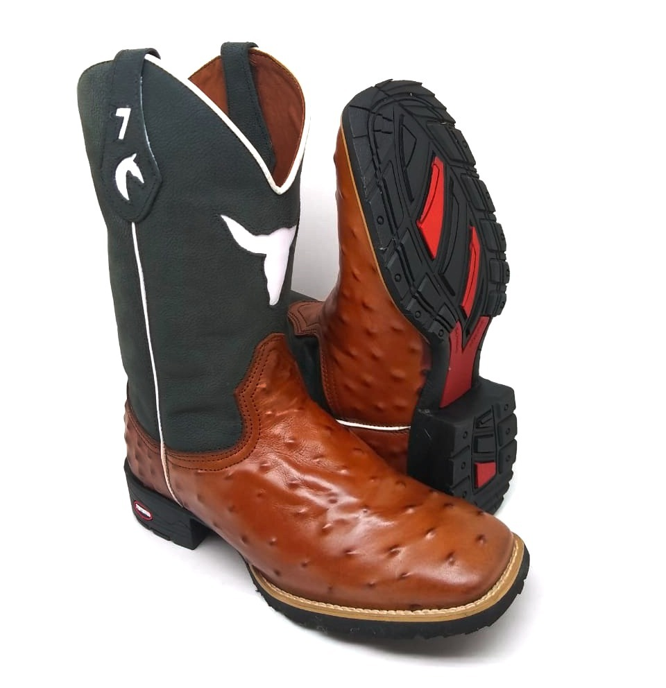 bota cara de touro texana country 7estrivos. Carregando zoom. 4a9ed38d177
