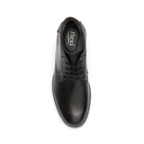 bota casual flexi caballero 92404 negro