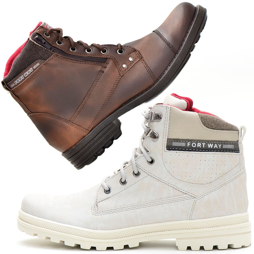 665eefd743 Bota Casual Kit Promocional 2 Pares Masculino Fort Way Natal - R ...