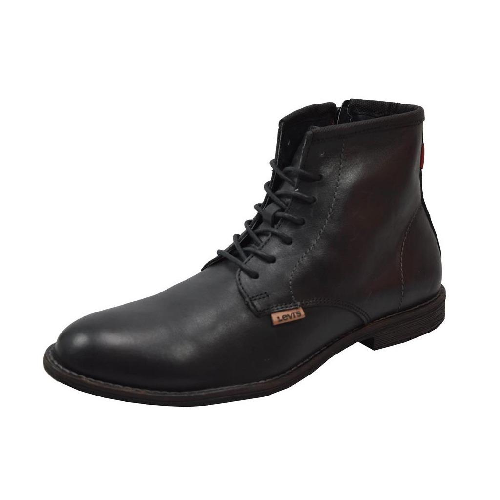 ce55a67d30 bota casual levi´s frank hombre caballero negro bota rudos. Cargando zoom.