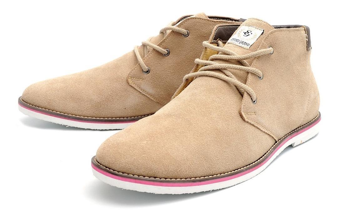 9e09fed260 bota casual masculina botinha em camurça social tan 01100/1. Carregando zoom .