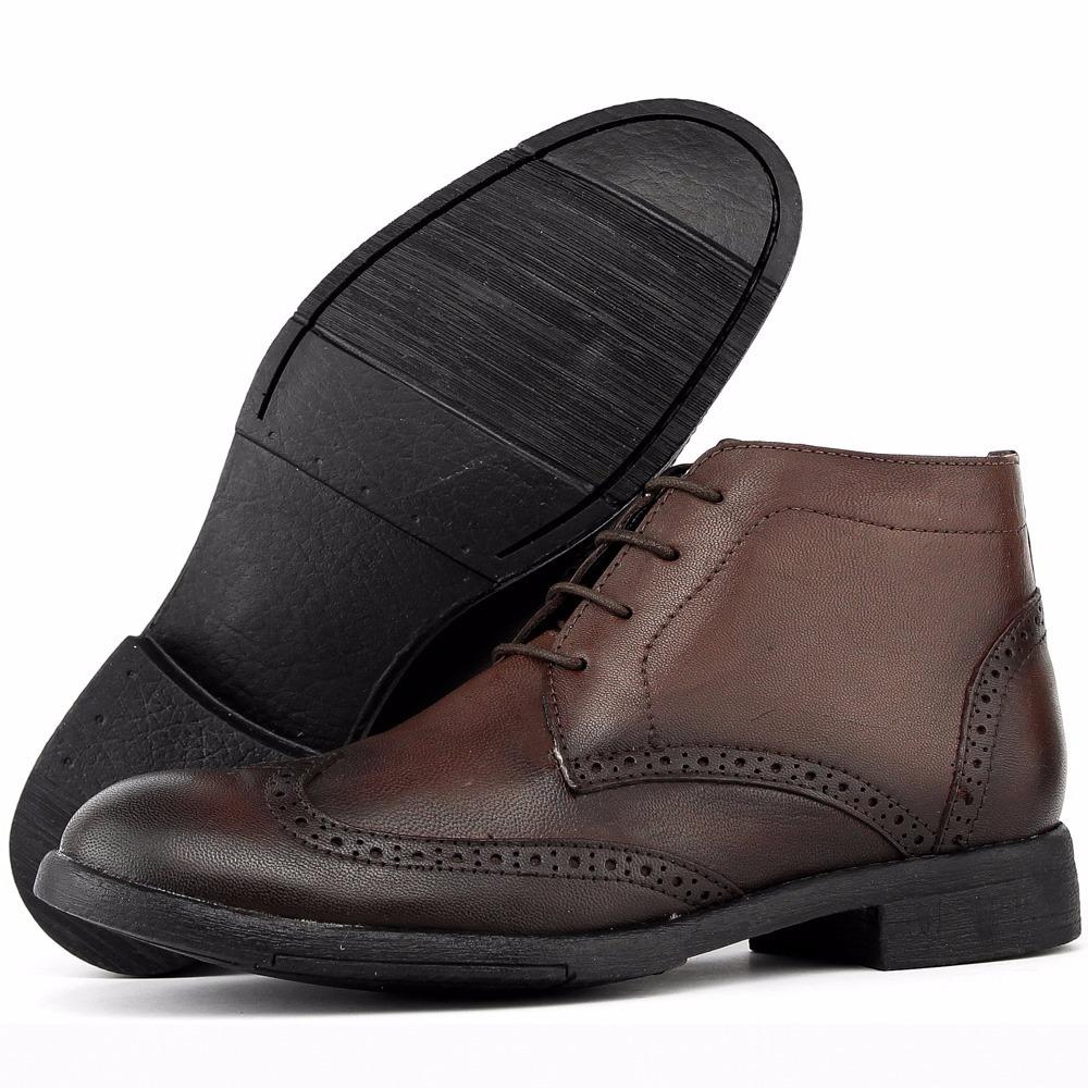 f77af066bd bota casual masculina oxford cano médio mega promoção. Carregando zoom.