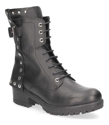 bota casual zappa mujer negro - x646