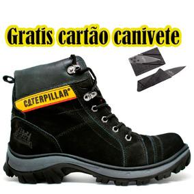 a4a396bcb Bota Adventure - Botas Caterpillar para Masculino Cinza no Mercado Livre  Brasil