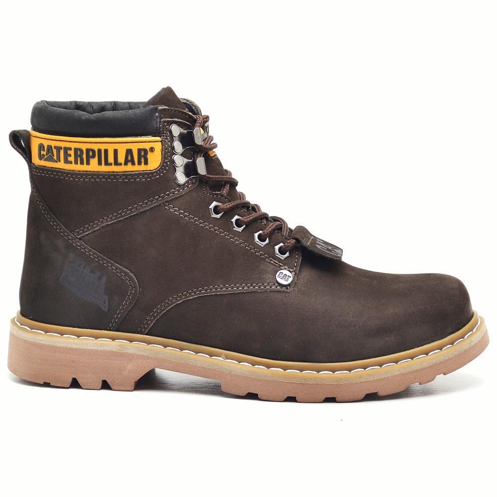 161c0c64c6 bota masculina caterpillar sapato em couro original coturno. Carregando  zoom... bota caterpillar sapato. Carregando zoom.