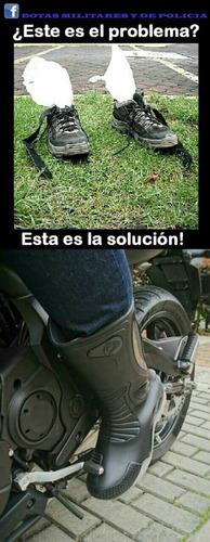 bota caucho.ideal para motociclistas