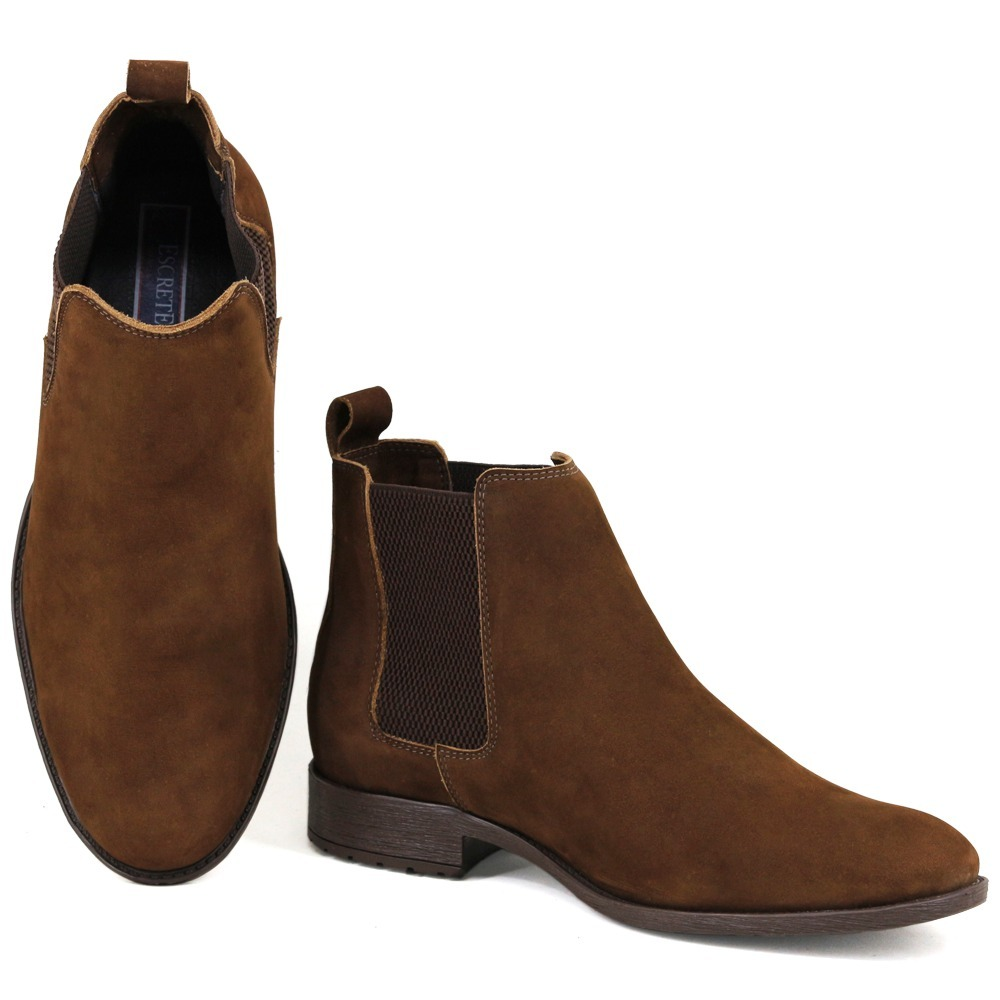 5a747301e5c bota chelsea boots classic masculina couro + carteira brinde. Carregando  zoom.