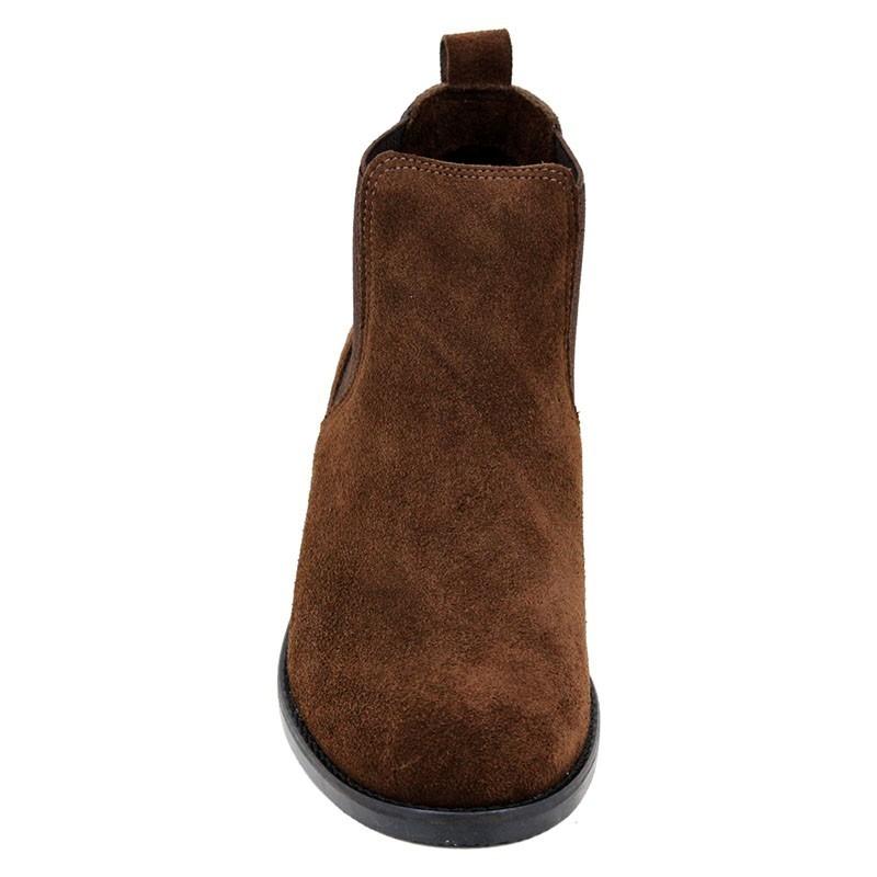 bota chelsea marrom masculina couro camurça - café 502. Carregando zoom. 4355a073087eb