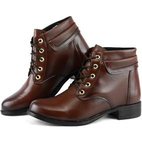 24b43a79f Chiqueteria Calcados - Sapatos para Feminino Marrom no Mercado Livre ...