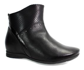 4f73c1aa60 1299302 Bota Cano Curto Comfortflex Feminino - Botas com o Melhores ...