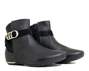 9dbb8cc7f Embutido Rampado Botas - Sapatos para Feminino com o Melhores Preços no  Mercado Livre Brasil