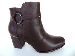 dd9f9e94e1 Bota Pernas Grossas Botas Comfortflex - Sapatos com o Melhores ...