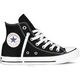 Bota Converse Unisex C. Taylor All Star Hi Negro - Rojo Cli