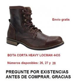 Dark Marca Locman Modelo 4435 Botas Cb3 Heavy Rocker Ropa