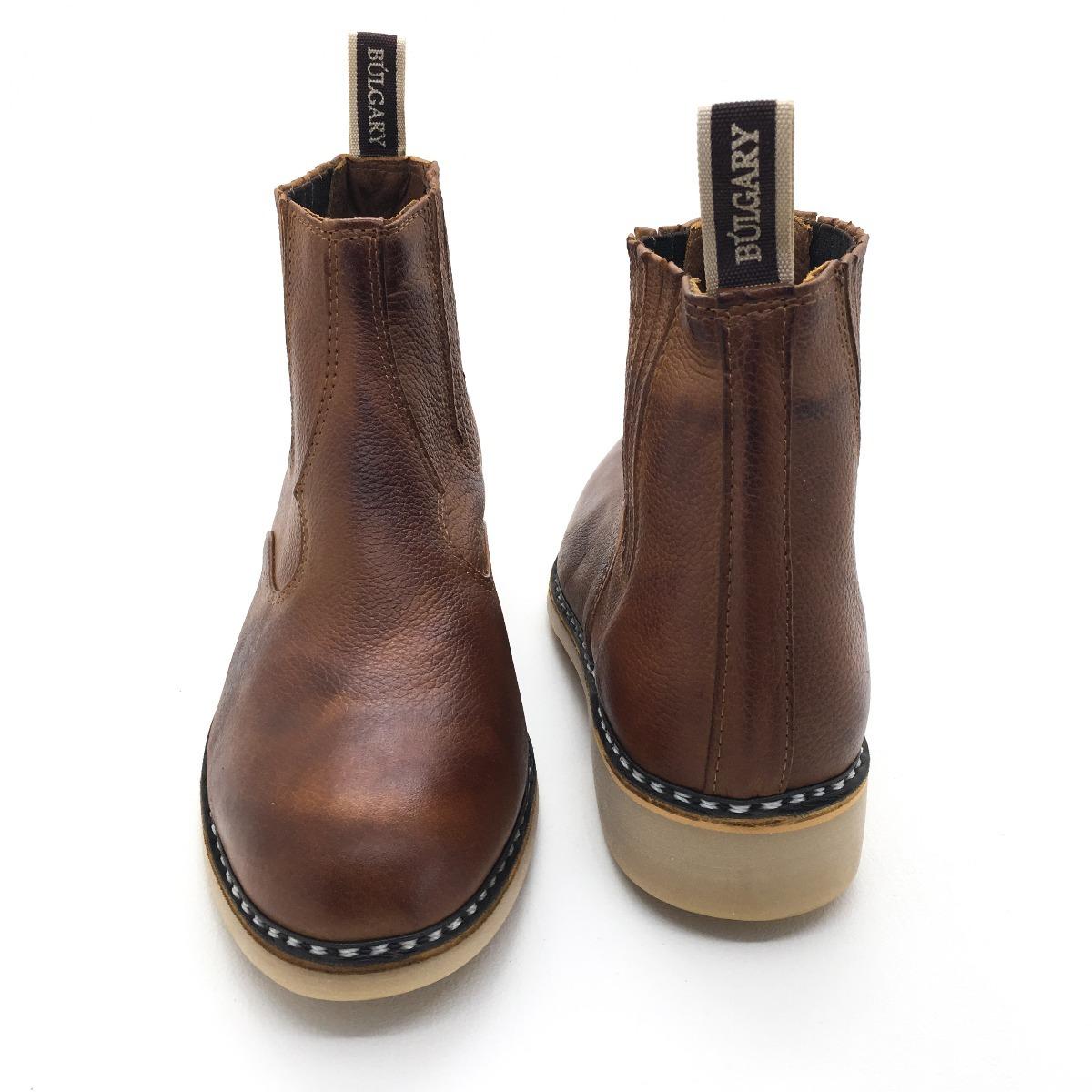 736a897a3 bota costurada a mão reforçada vira francesa couro legítimo. Carregando  zoom.