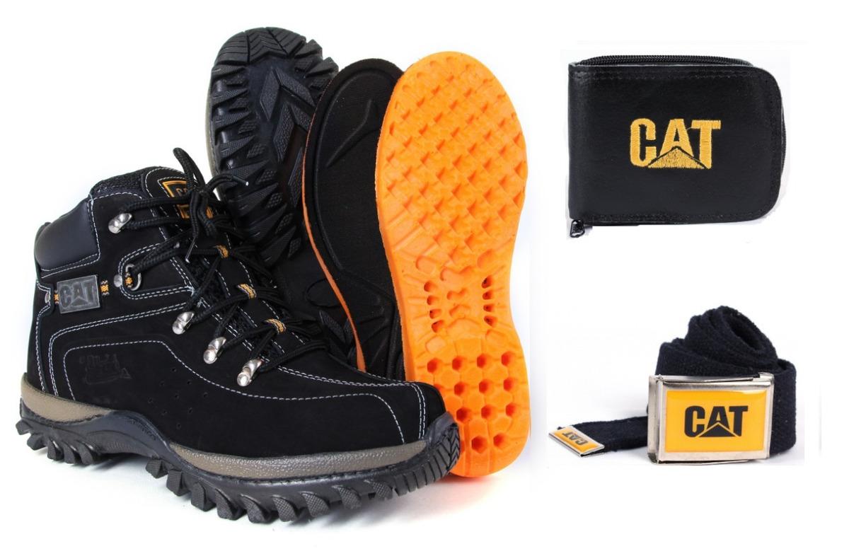 be197cefe9 bota coturno ad botina caterpillar couro cat original. Carregando zoom.