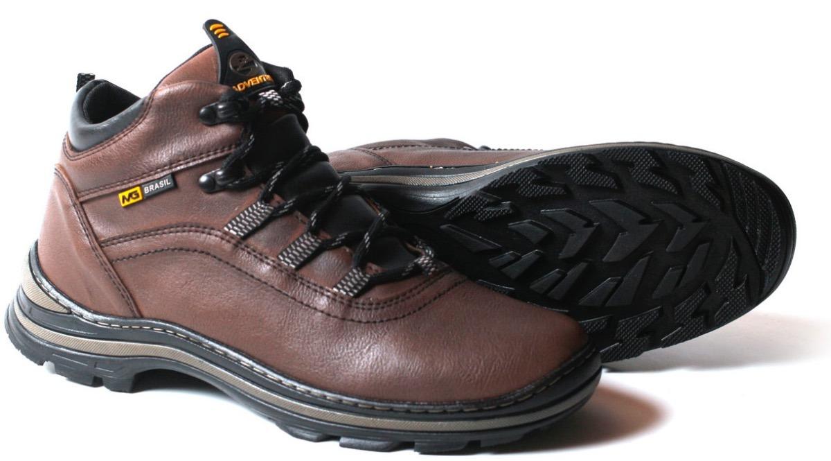 f2c5165993 bota coturno adventure masculina couro sintético atacado. Carregando zoom.