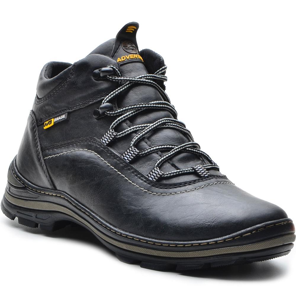 76df8a7950 bota coturno adventure masculina couro sintético top oferta. Carregando zoom .