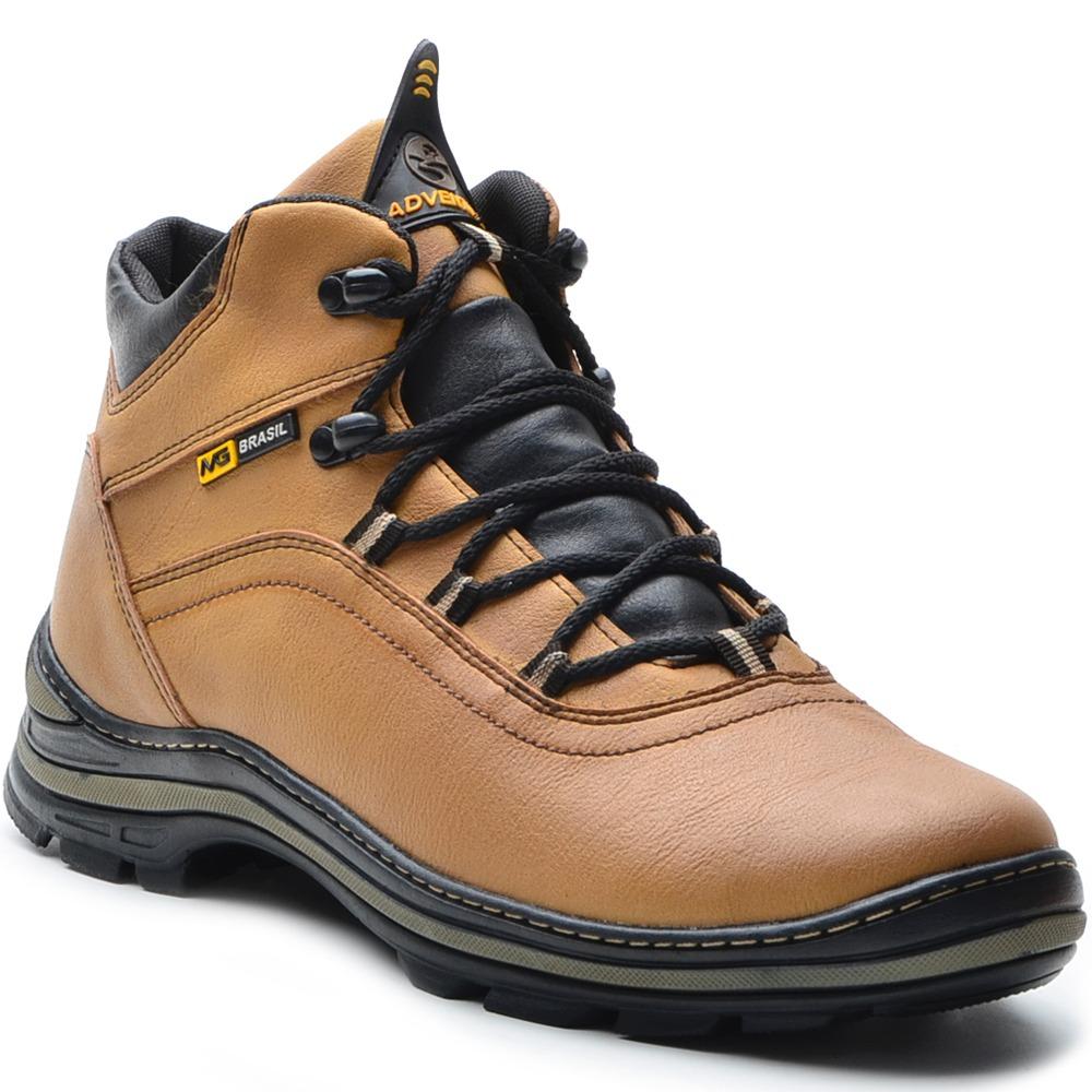 989a95c471 bota coturno adventure masculina couro sintético trekking. Carregando zoom.