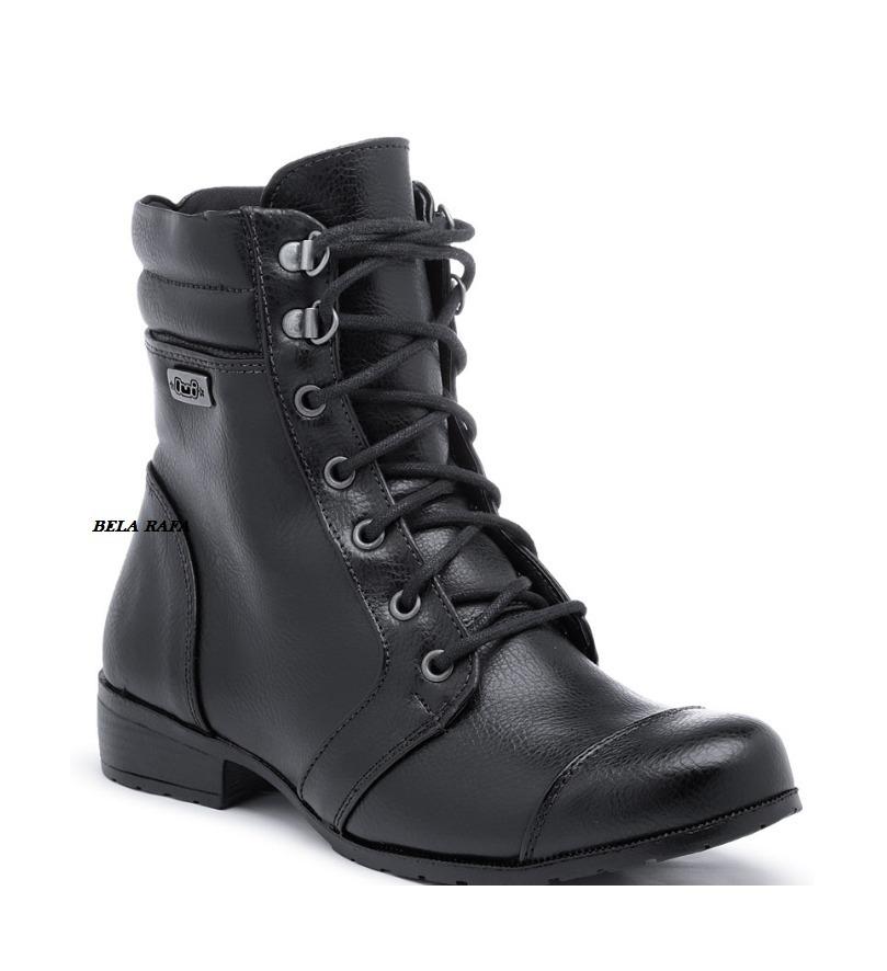 5f4db275aa Carregando zoom... coturno bota bota. Carregando zoom... bota coturno  botinha bota militar motoqueiro feminina luxo
