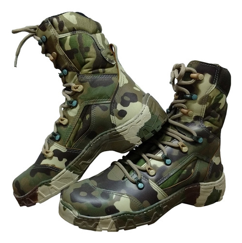 bota coturno cano alto enforcer strike ii camuflada militar