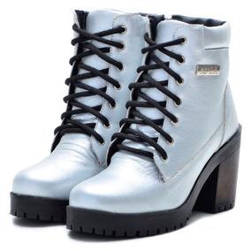 928b1549e114d Sap 36 Verniz Cinza Couro Masculino Coturno - Sapatos no Mercado ...