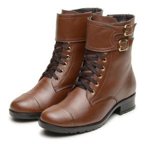 091659a3e Botas Feminina Cano Curto - Botas Coturnos Atron Shoes para Feminino ...