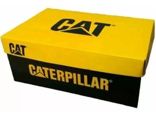 bota coturno caterpillar adventure original kit brinde gráti